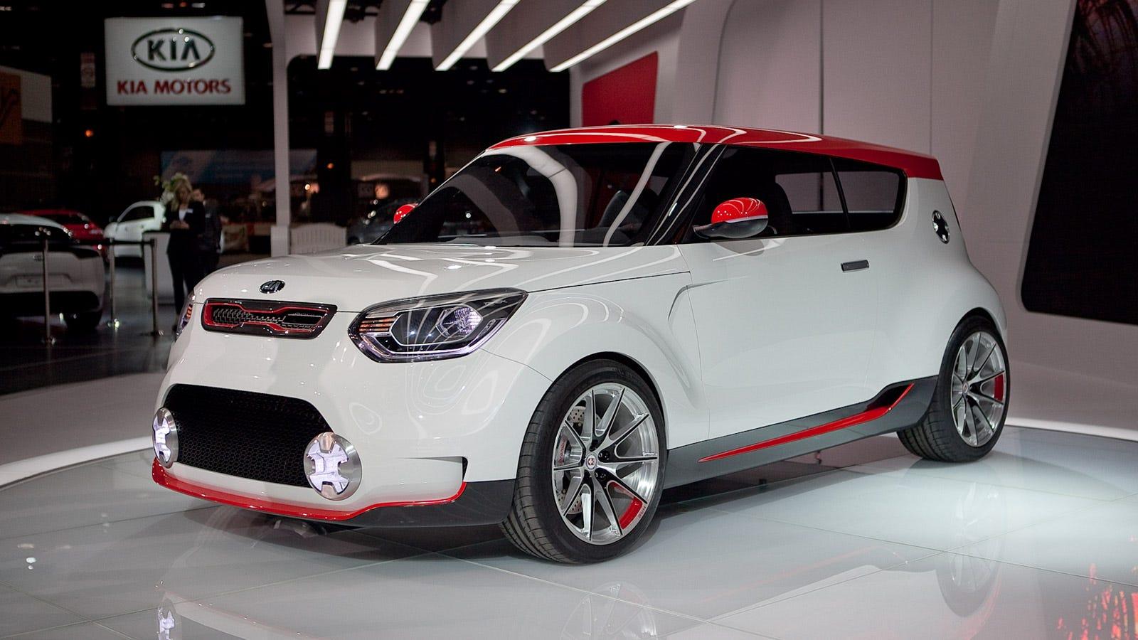 Kia Soul Awd >> Kia Track Ster Concept A 250 Hp Awd Kimchi Flavored Hatch