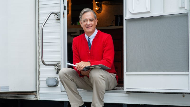Illustration for article titled Tom Hanks' Mr. Rogers movie gets a Beautiful new title
