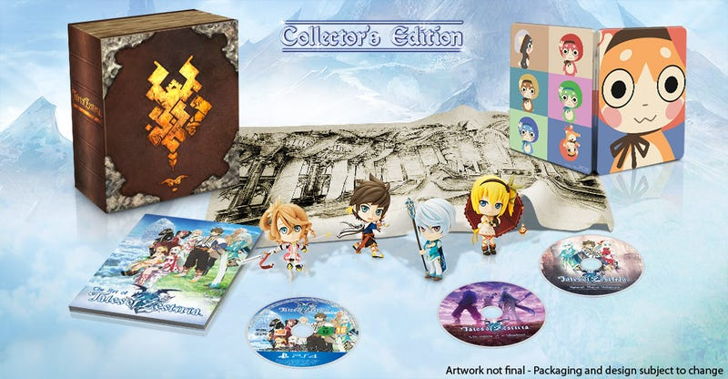 Illustration for article titled Tales of Zestiria Collector's Edition Revealed, Symphonia coming to PC