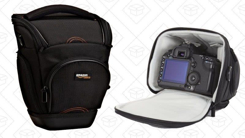 Funda para cámara DSLR AmazonBasics, $7