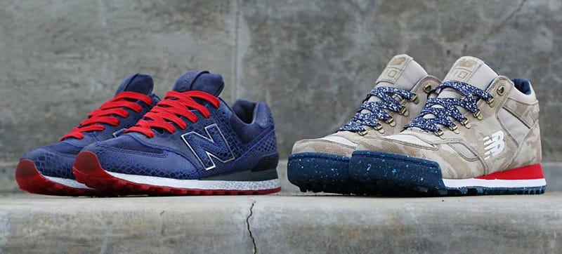Illustration for article titled New Balance Teams Up With G.I. Joe and Cobra For Some Slick Sneakers
