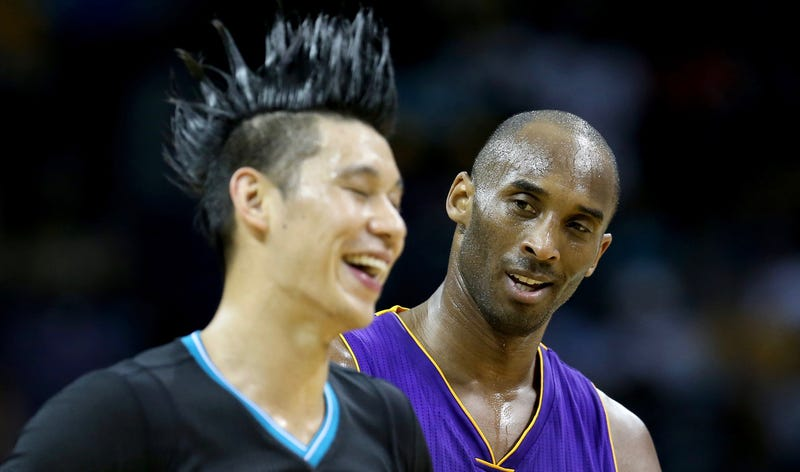 Illustration for article titled Kobe Tried To Rip Jeremy Lin's Head Off!