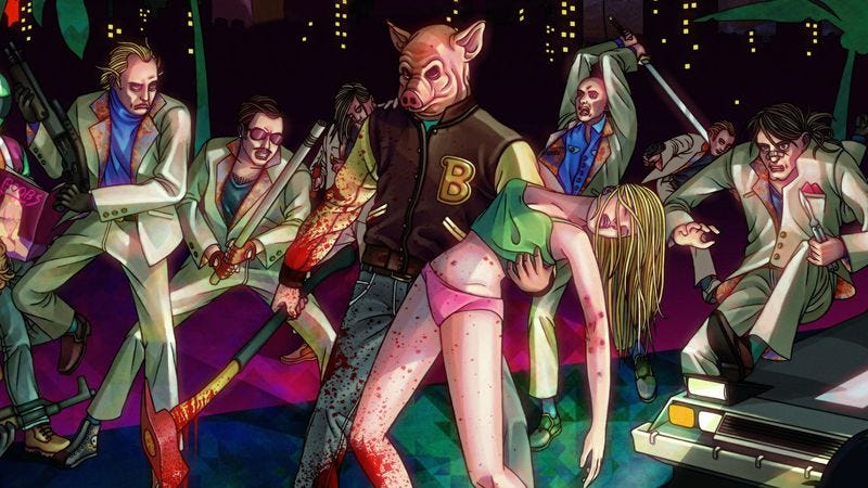 Illustration for article titled Readers explore the links between hip-hop and Hotline Miami