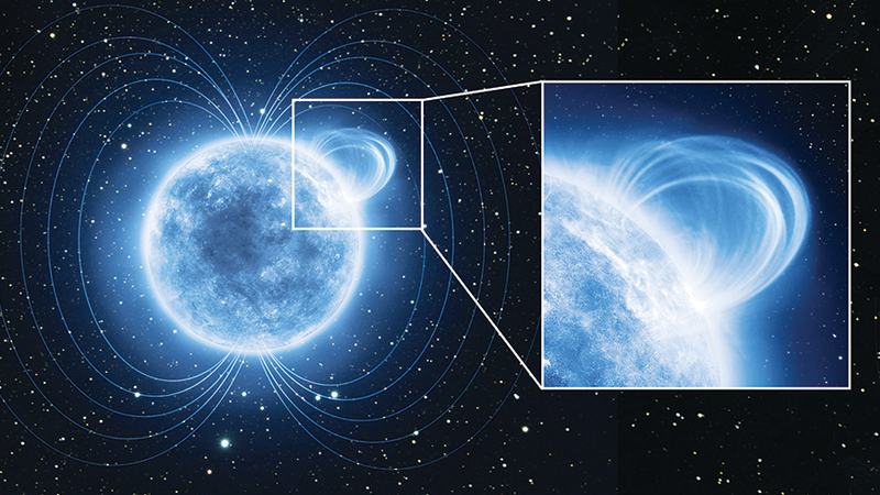 Illustration for article titled The Mysterious Magnetar WIth an Insanely Strong Magnetic Field