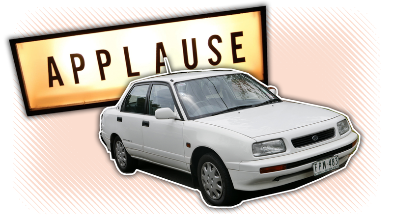 Illustration for article titled This Is How You Do a Boring Car Right