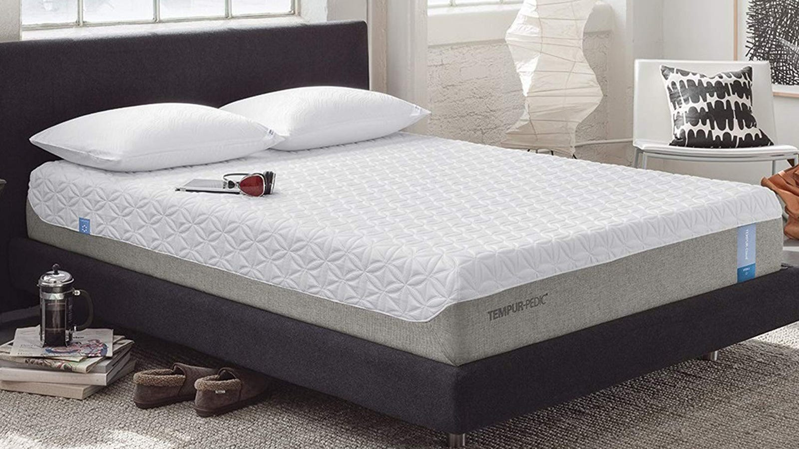 Commit To Memory Foam With This Tempur Cloud Mattress Gold Box