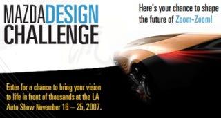 "Illustration for article titled Mazda Teams with Facebook to Find Designer of the ""2018 Mazda3"""