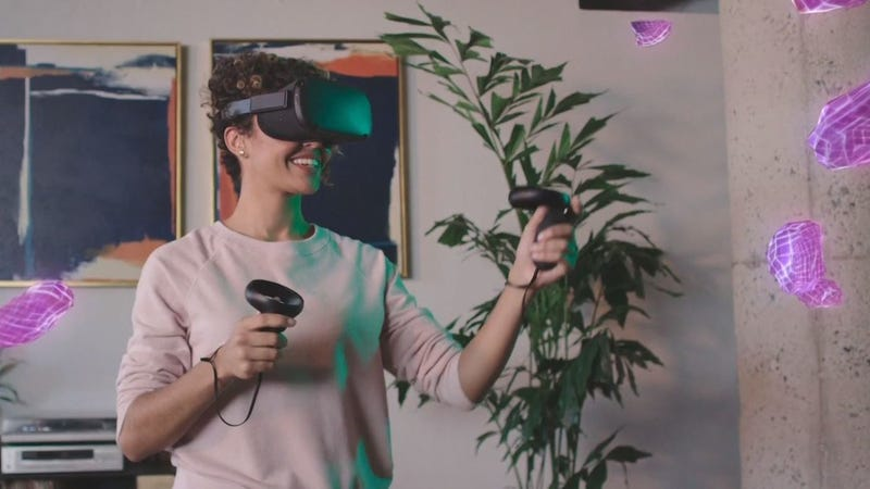 Illustration for article titled The Oculus Quest Is Real: Facebook Promises $400 Standalone VR This Spring