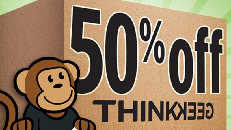 Moving Sitewide Sale | ThinkGeek | Use code MOVINGDAY