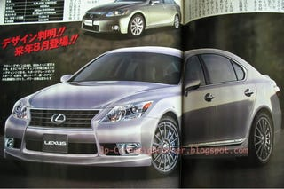 Illustration for article titled Is this the next Lexus LS?