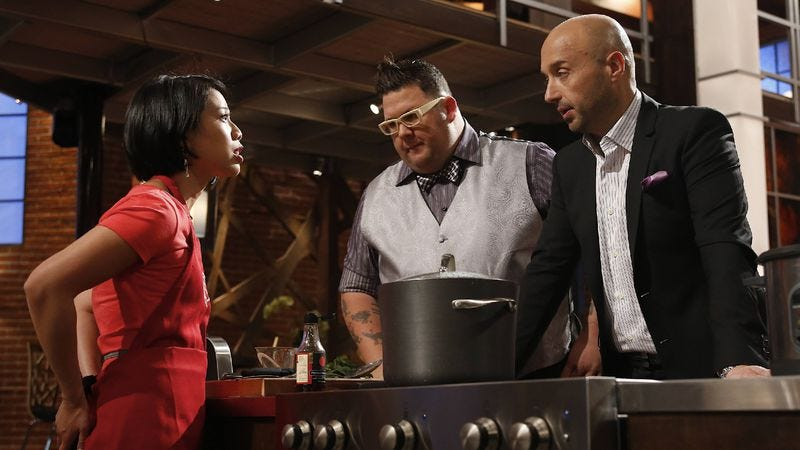 """Illustration for article titled MasterChef: """"Top Four Compete"""""""