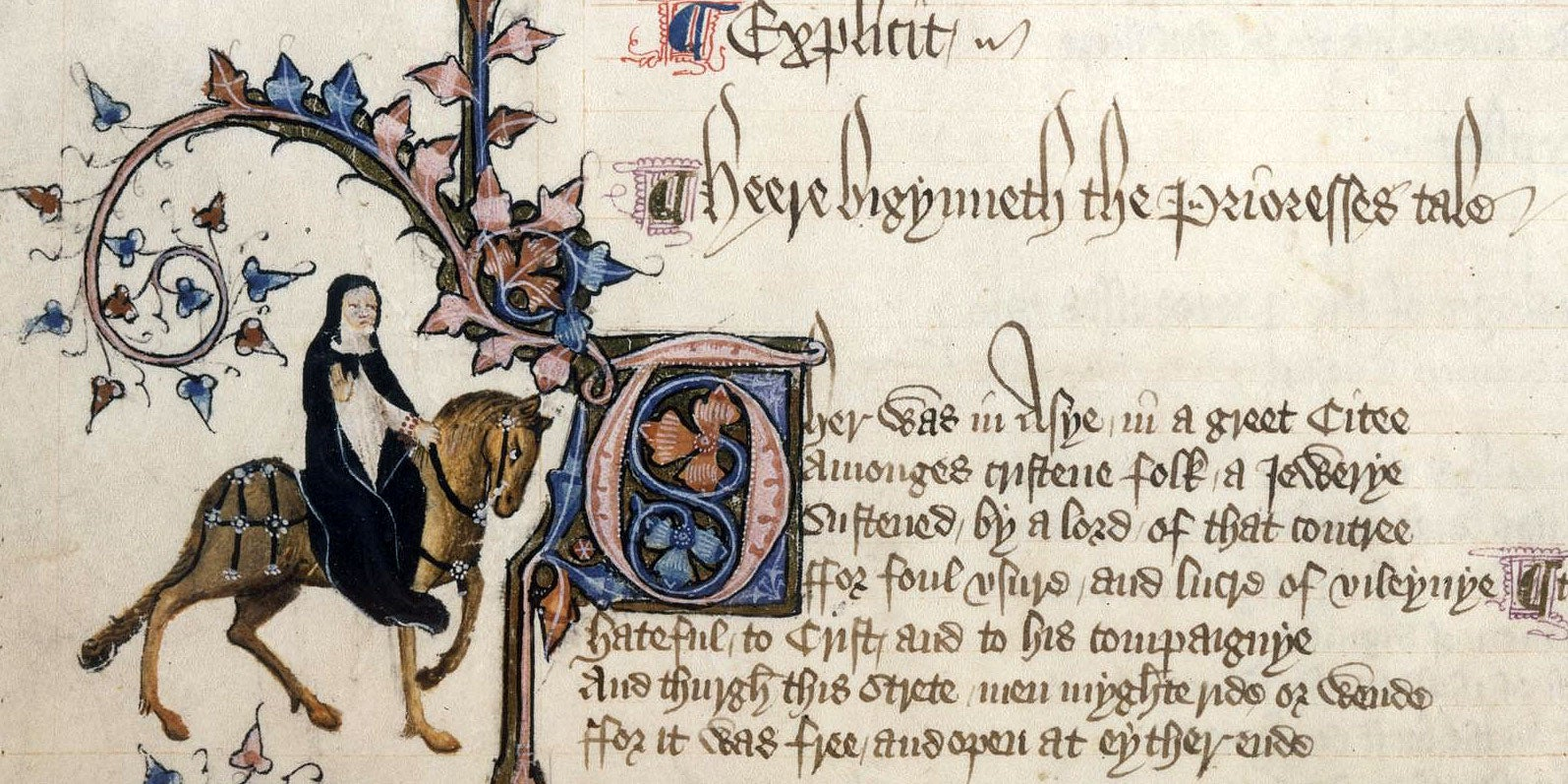 the illustration of the medieval christian church in canterbury tales by geoffrey chaucer Frame in the order of the canterbury tales ,  tales in the christ church ms this tale is  within geoffrey chaucer's canterbury tales in which.