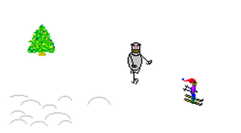 Illustration for article titled The Most Terrifying Skiing Video Game Ever Arrives on iOS