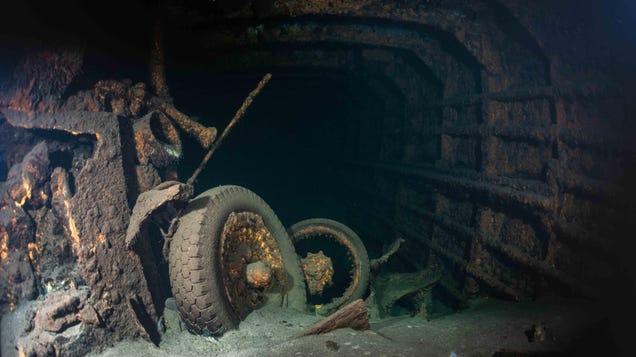 Dive Team to Investigate Wreck of Sunken Nazi Steamer