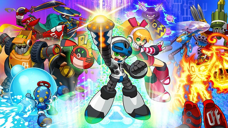Illustration for article titled Mighty No. 9 - The Disco Review
