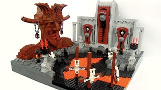 Illustration for article titled The Nine Circles Of Hell, As Depicted In LEGO
