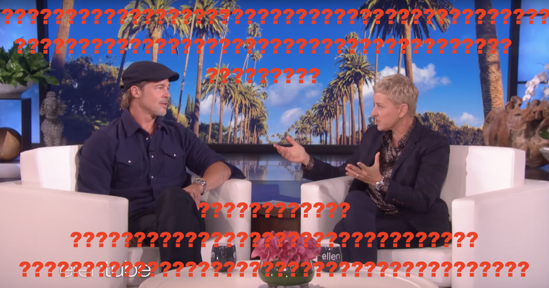 Illustration for article titled Jezebel Investigates: Which One of Brad Pitt's Exes Did Ellen DeGeneres Date?