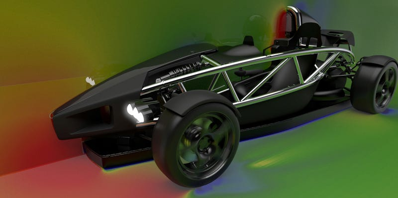 Illustration for article titled This Ariel Fan Car Uses Banned Technology To Solve One Of Sports Cars' Biggest Problems