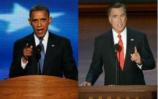Obama and Romney to face off (Getty Images)