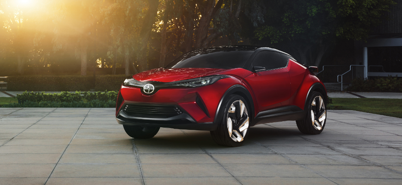 Illustration for article titled A Production Version Of The Puppy-Dog Scion C-HR Is Coming Next Year
