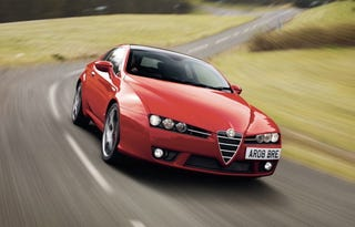 Illustration for article titled 2008 Alfa Romeo Brera S Bred Specifically For English Dragons