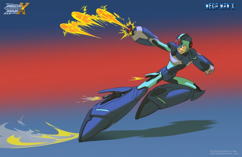 Illustration for article titled Oh, If Only Mega Man Still Looked This Good