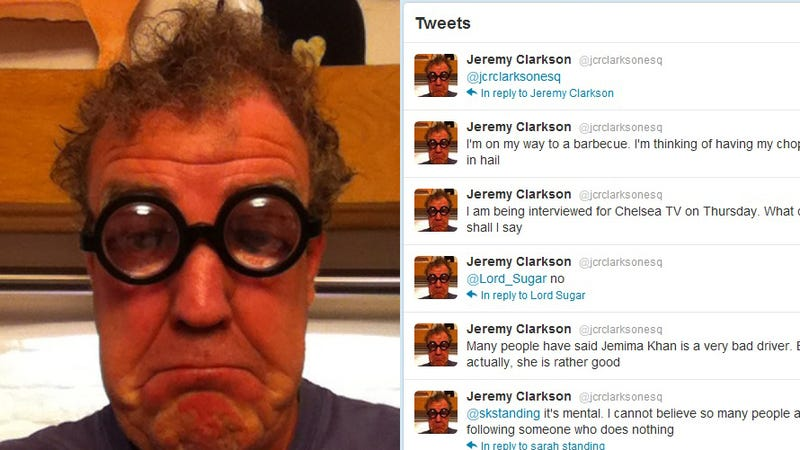 Illustration for article titled Is The Real Jeremy Clarkson On Twitter? [UPDATE]