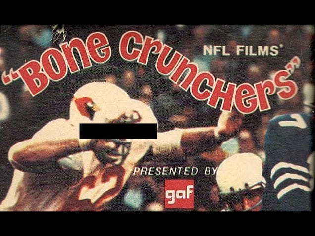 Bone Crunchers, Crunch Course, And How The NFL Hitched Its Brand To Brain Damage Snuff Films