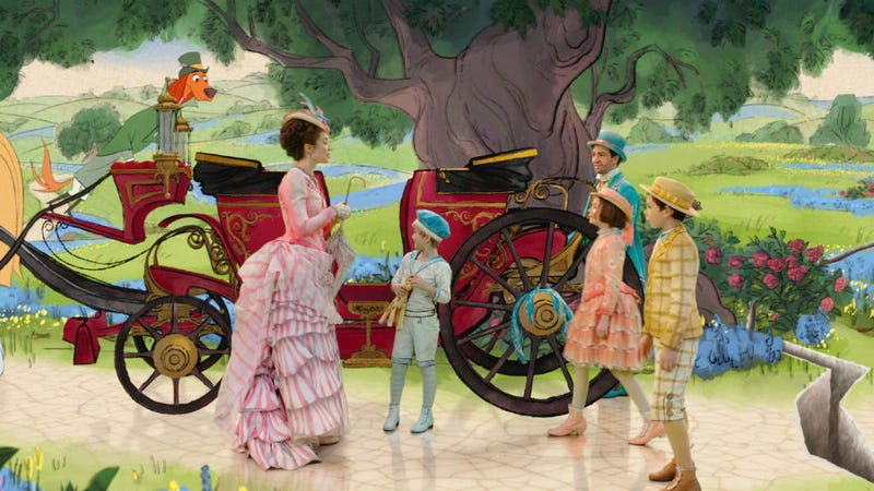 The animated sequence in Mary Poppins Returns took 16 months to make.