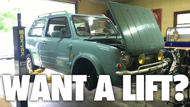 I Replaced the Struts on My Nissan Pao and Got Spoiled By a Lift and