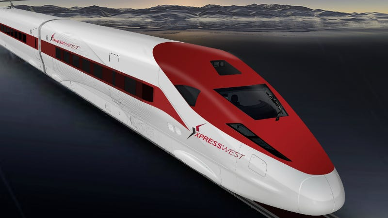 Illustration for article titled The US and China Just Made a Deal To Build High-Speed Rail Between LA and Vegas
