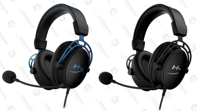 Save $30 on HyperX Cloud Alpha Headsets and Hear Not Just the Blips, but the Bloops Too