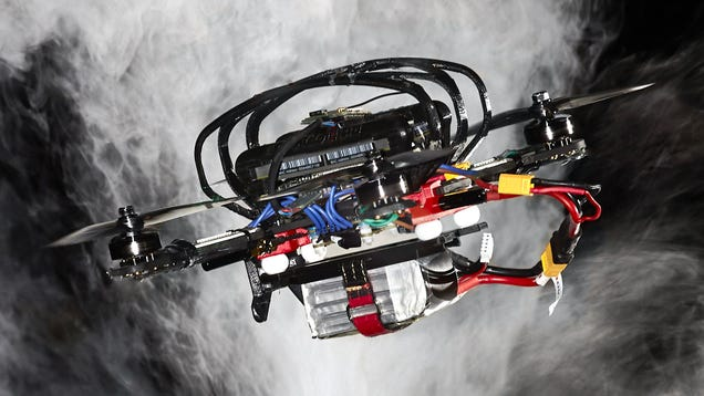 An Autonomous Drone Just Beat a Professional Racing Pilot for the First Time