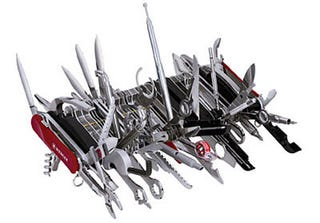 Illustration for article titled Gigantic Swiss Army Knife On Sale Now