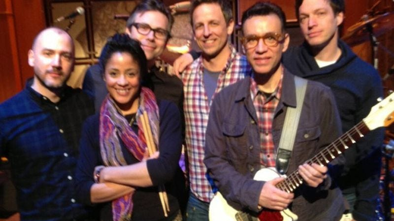 Illustration for article titled Here's what Fred Armisen's new Late Night With Seth Meyers band sounds like
