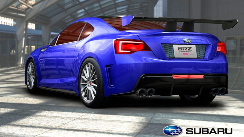 Illustration for article titled Subaru BRZ STI concept gallery