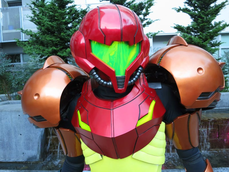 Illustration for article titled Metroid Cosplay Is So Good It Might Be Witchcraft