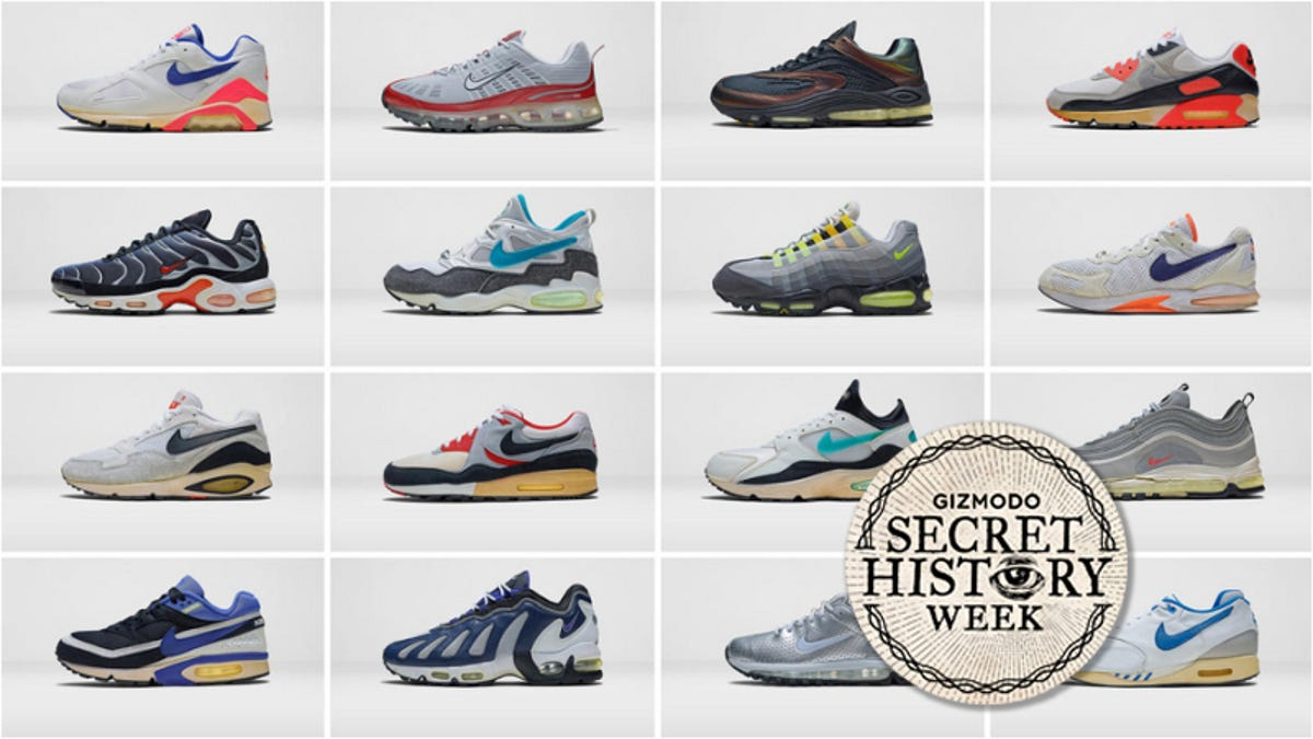 the latest faaa1 9a365 The Absurd History of Nike Air Technology