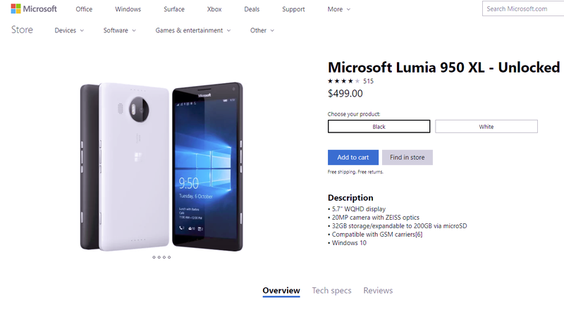 Illustration for article titled Microsoft Is Selling Old Lumia Smartphones Again, For Some Reason