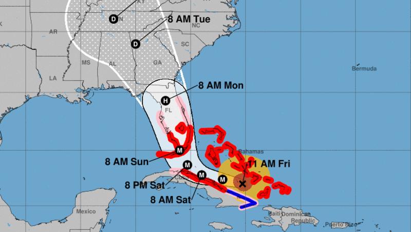 Illustration for article titled Qué es el modelo europeo que predice la ruta de los huracanes y por qué está acertando más que el americano