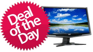Illustration for article titled 20-Inch Acer LCD Is Your Squintfree Deal of the Day
