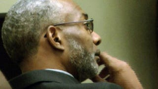 The Rev. Juan McFarland listens to testimony against him as a judge decides his fate as the pastor of Shiloh Missionary Baptist Church in Montgomery, Ala.Fox News Screenshot