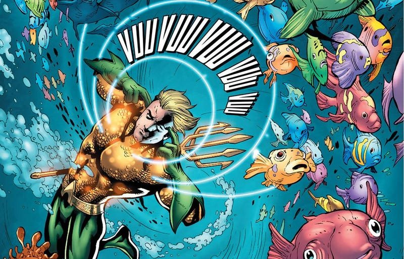 Illustration for article titled Rumor: The  Justice League movie snubs Aquaman