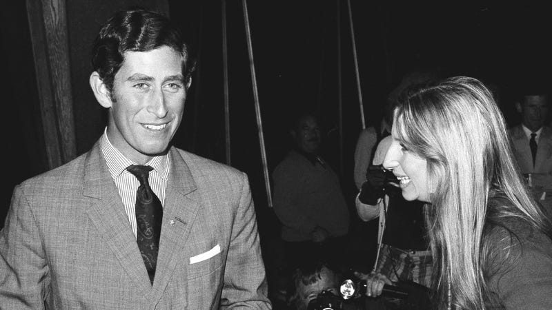 Illustration for article titled Good Rumor: Young Prince Charles Had a Big Fat Crush on Barbra Streisand