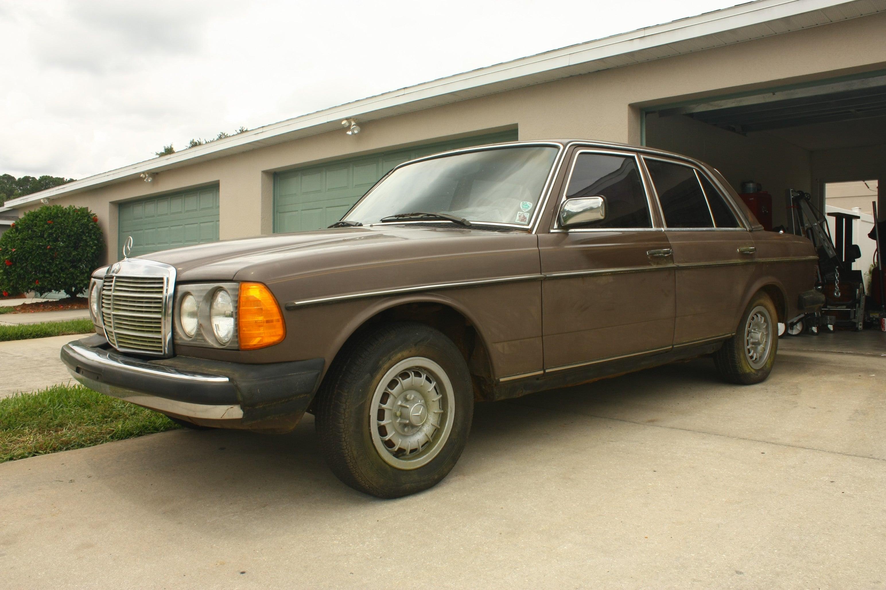 1978 mercedes benz 240d 4 speed restoration for Mercedes benz restoration