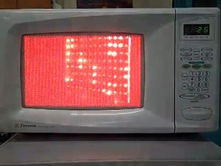 Illustration for article titled Watch The Microwaves Inside A Microwave
