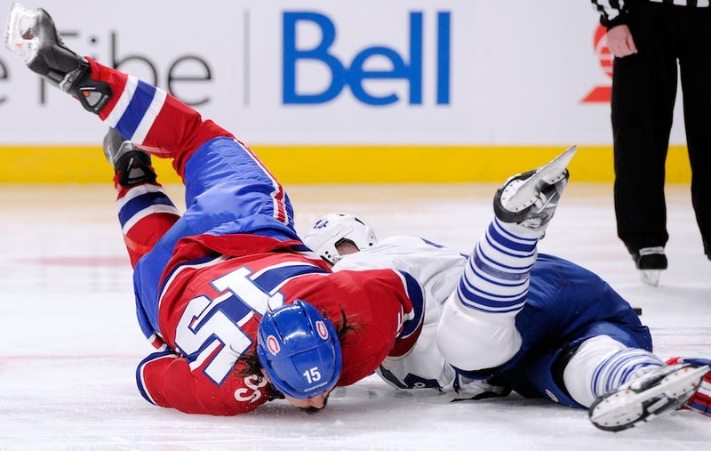 Illustration for article titled Fighting In Hockey Will Die When A Player Does