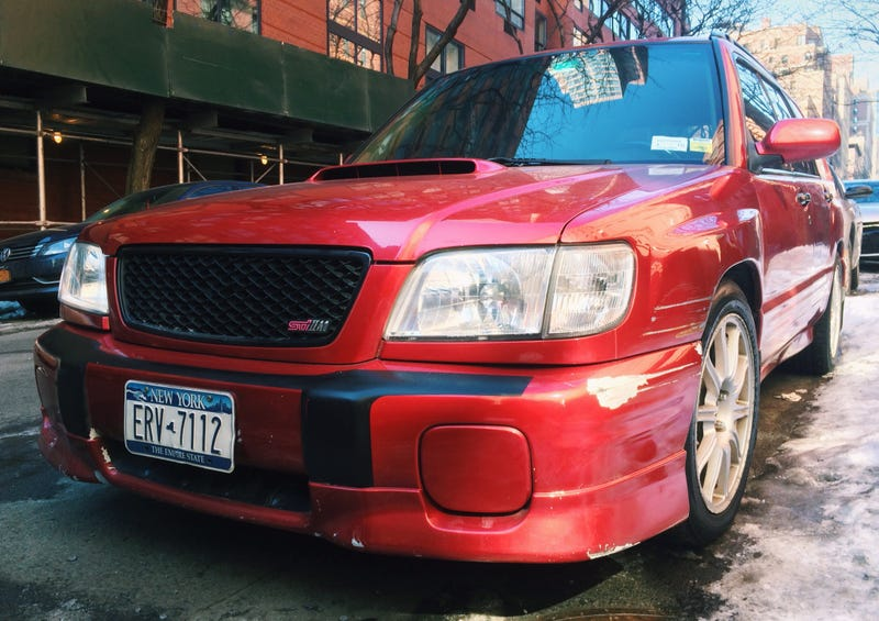 Illustration for article titled On the block: Subaru Forester STi II Type M