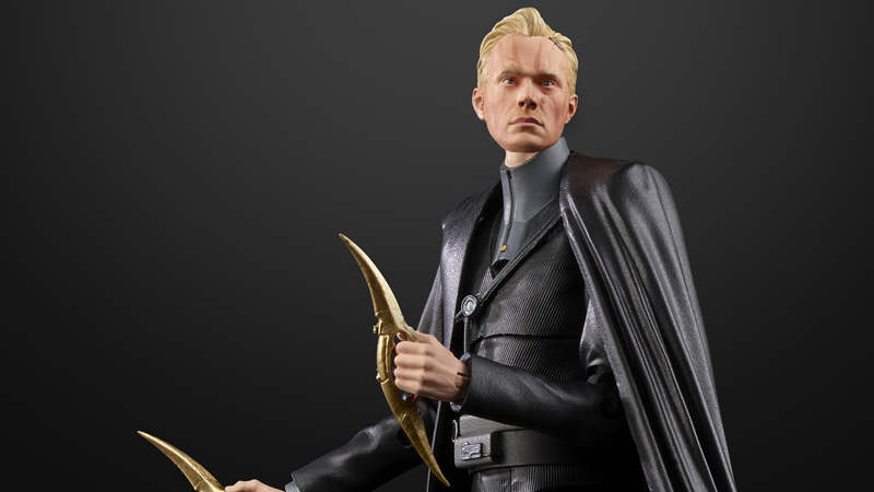 How do you make a figure of a bad guy in a space-tuxedo interesting? Color-changing face scars!