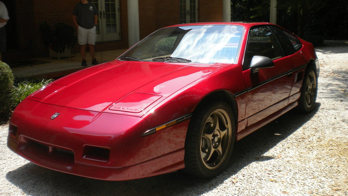 Could You Do 11500 For This Supercharged 38 1988 Pontiac Fiero Console